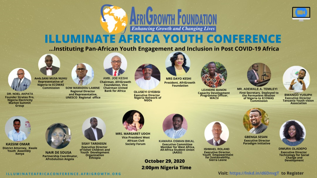 Illuminate Africa Youth Conference Resource Persons