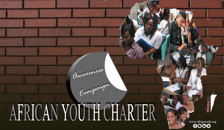 WE SUPPORT THE AFRICAN YOUTH CHARTER