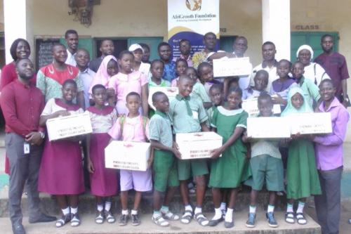 First Aid Box Donation in Eight LEA Primary Schools